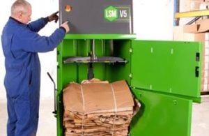 Bálázógép kicsi kereskedelem hulladékkezelés
