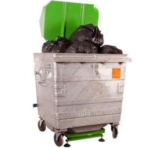 Kukaprés LSM BP1100 hulladékprés, tömörítő bármilyen típusú kukához