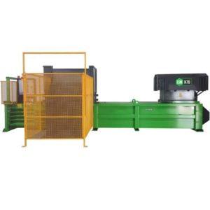 LSM hulladékautomata bálázó