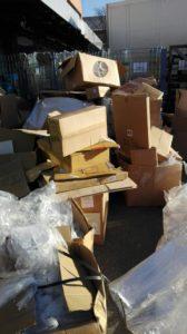 Újrahasznosítható hulladék tömörítés, eladás