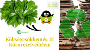 Szemétdíj csökkentés, hulladékgazdálkodás, bálázógép, hulladékprés LSM Hungary